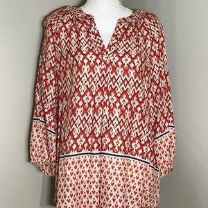 EUC BeachLunchLounge Boho Shirt/Cover-Up-Size M